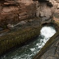 Thunder Hole, Acadia National Park.- Thunder Hole