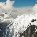 Cayoosh Range as seen from the ridge.- Joffre Lakes Provincial Park