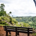 An overlook of central and western O'ahu.- 'Aiea Loop Trail