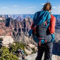 Bright Angel Point, Grand Canyon National Park.- Bright Angel Point