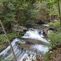 Upper Wolf Creek Falls.- Letchworth West Gorge Trail
