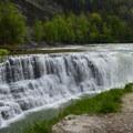 The Lower Falls.- Letchworth West Gorge Trail