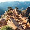 Take time to enjoy the views, but don't get distracted and loose your footing!- South Kaibab Trail Day Hike