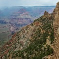 Weather can change rapidly, especially during the summer monsoon season.- South Kaibab Trail Day Hike