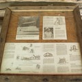 A Whisky Creek Cabin information sign.- Whisky Creek Cabin