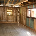 The room to the cabin that was added later on.- Whisky Creek Cabin