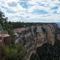 One of many amazing overlooks that are right along the road.- Rim Trail