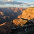 Sunset is amazing in the Grand Canyon, and it is easy to catch from anywhere on the Rim Trail.- Rim Trail