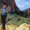 You'll already be very far below the rim after hiking 1.5 miles into the trail.- Bright Angel Trail Day Hike
