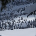 The first of many micro zones for backcountry skiing.- Paul Ridge + The Red Heather Hut