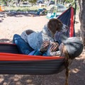 Lazy morning in Desert View Campground, Grand Canyon National Park.- Desert View Campground