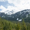 The wonderland lookout offers a great view of the valley.- Sea-to-Sky Gondola Summit