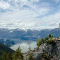 Great views of the Sea-to-Sky Corridor from up above.- Sea-to-Sky Gondola Summit