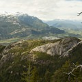 The Panorama Trail gets you views from behind the Chief.- Sea-to-Sky Gondola Summit
