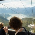 The gondola ride is fun for all ages and has spectacular views.- Sea-to-Sky Gondola Summit