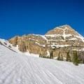 Reids Peak during the approach.- Reids Peak