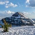 The rugged Reids Peak.- Reids Peak