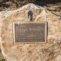 A park commemoration.- Mansfield Hollow State Park