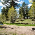 Another open tent site at the campground.- North Rim Campground