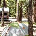 Tent site at North Rim Campground.- North Rim Campground
