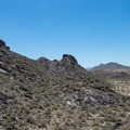 Ascending South Mountain.- Holbert Trail to Dobbin's Lookout