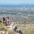 There may be no better northward vantage over Phoenix than this.- Dobbin's Lookout