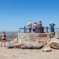 Get on this pedestal for the highest possible view from the lookout.- Dobbin's Lookout