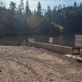 The gravel boat ramp.- C.C. Cragin Reservoir