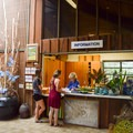 Check in at the visitor center for camping.- Ho'omaluhia Botanical Gardens