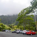 There is plenty of parking at the visitor center.- Ho'omaluhia Botanical Gardens