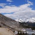 Beautiful mountain lake views.- Blue Lakes Trail
