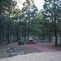 The campsites all have new gravel pads.- Rock Crossings Campground