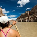 Heading north.- Bighorn River: Barry's Landing to Lower Layout Creek Canyon