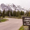 Jenny Lake Campground.- Jenny Lake Campground