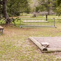 A hiker/biker area.- Jenny Lake Campground