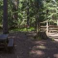 A typical site.- Joe Graham Horse Camp