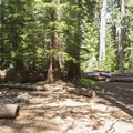 The group area at the center of camp.- Joe Graham Horse Camp