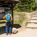 Leigh Lake Trailhead.- Leigh Lake Trail