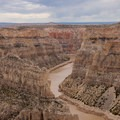 Make it a longer trip by continuing up the canyon. Pictured is the canyon from Devil Canyon Overlook.- Bighorn River: Barry's Landing to Lower Layout Creek Canyon