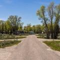 """""""A"""" Loop road- Gros Ventre Campground"""