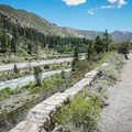Views of the Truckee River and interstate near the Floriston end.- Tahoe-Pyramid Bikeway: Farad to Floriston