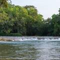 Clarissa Falls along the Mopan River in Belize.- Mopan River Float