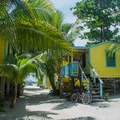 Colinda Cabanas are located at the south end of Caye Caulker.- Colinda Cabanas