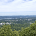 Overlooking the Hudson Valley to the north.- Overlook Trail to Lambs Hill