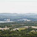 The Danskammer Generating Station across the river.- Overlook Trail to Lambs Hill