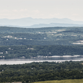 The Skytop Tower and the Catskill Mountains.- Overlook Trail to Lambs Hill
