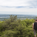 The view from the Lambs Hill summit.- Overlook Trail to Lambs Hill