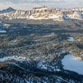 Hayden Peak and the Mirror Lake Scenic Byway.- Bald Mountain Backcountry Ski
