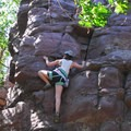 One of many great routes for beginners.- Stettner's Rocks