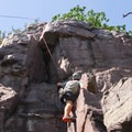 There are several routes here.- Stettner's Rocks